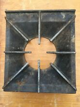 2 Used Wolf Commercial Gas Stove Burner Grate 8 Spoke Heavy Duty