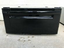 LG Pedestal  WDP3B  for a washer or dryer black Pedestal