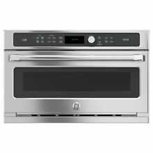 GE Cafe Series 30 inch Single Advantium Technology Wall Oven