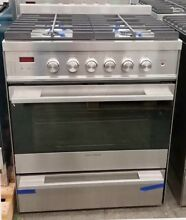 FISHER PAYKEL 30  GAS RANGE STAINLESS STEEL W FACTORY WARRANTY