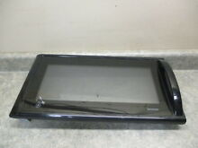 GE MICROWAVE DOOR PART   WB55X10217