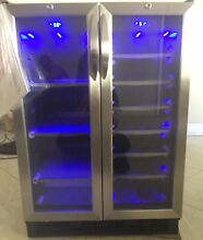 New Danby Dual Zone Beverage And Wine Cooler  Retail Value  1000