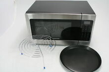 Samsung MG11H2020CT 1 1 cu  ft  Countertop Grill Microwave Oven Black FOR PARTS