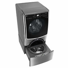 LG WM5000HVA 4 5 cubic Foot Ultra Large Capacity with On Door Control Panel and