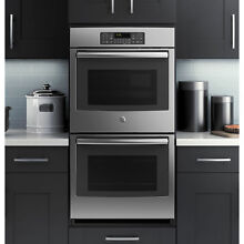 GE 27 inch Stainless Steel Built in Double Wall Oven