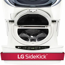 LG WD100CW 1 0 cubic Foot SideKick Pedestal Washer  LG TWIN Wash Compatible in