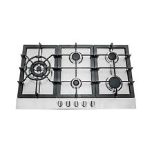 Cosmo 34 inch Stainless Steel Gas Cooktop  950sltx e