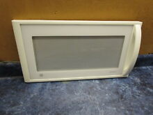 GE MICROWAVE DOOR WHITE PART  WB56X10270