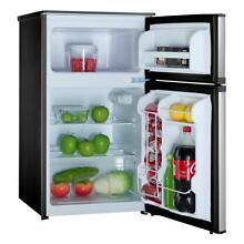 Magic Chef Mini Refrigerator 3 1 Cu Ft  in Stainless