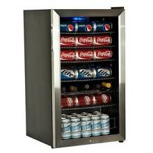 EdgeStar BWC120SSLT 19  Wide 103 Can   5 Bottle Beverage Cooler