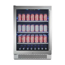 Avallon ABR241SGLH 24in Wide Beverage Center with Left Swing Door