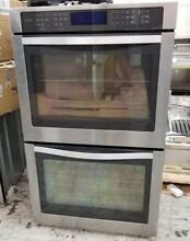 WHIRLPOOL 30 INCH DOUBLE OVENS ELECTRIC CONVECTION STAINLESS