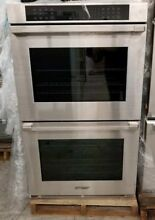 NEW OUT OF BOX DACOR DOUBLE 30  ELECTRIC WALL OVEN STAINLESS HERITAGE SERIES