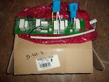 NEW OEM GE Microwave Control Board Relay Board   Timer WB27X10334