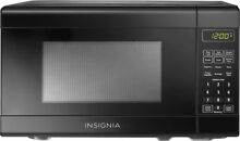 Insignia    NS 7CM6 BK 0 7 Cu  Ft  Compact Microwave   Black