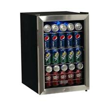 Dorm  Rec Room Mini Refrigerator Stainless Steel 84 Can Beverage Extreme Cooler