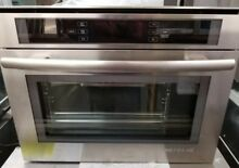 JENN AIR 24  STAINLESS STEEL STEAM AND CONVECTION WALL OVEN