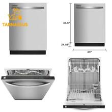 Kenmore 13473 24  Built In Dishwasher In Stainless Steel  Includes Delivery And
