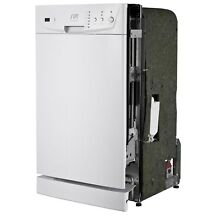SPT Energy Star White 18 inch Built In Dishwasher