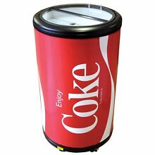 Koolatron CCPC50 Coca Cola Indoor Outdoor Party Fridge