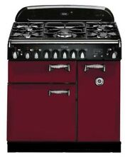 NEW OUT OF BOX AGA LEGACY 36  DUAL FUEL RANGE IN CRANBERRY