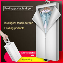 Portable Clothes Dryer Electric Laundry Drying Rack Foldable for Apartment Home