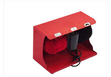 New High End Stainless Steel Automatic Induction Home Public Shoe Dryer Red