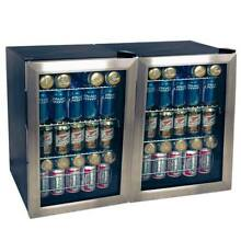 EdgeStar BWC90SSDUAL 34 W 168 Can Beverage Cooler with Extreme Cool