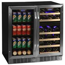 EdgeStar CWBV8026 30 W 26 Bottle 80 Can Side by Side Wine   Beverage Center