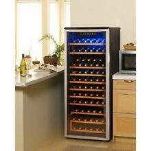 Danby   75 Bottle Stainless Steel Free Standing Wine Cooler