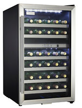 Danby DWC114 20 Inch Wide 38 Bottle Capacity Free Standing Wine Cooler with Dual