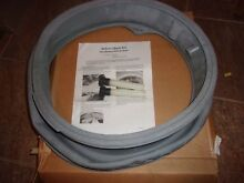 NEW OEM Frigidaire Electrolux 134728400 Washer Door Bellows Kit w  Instructions
