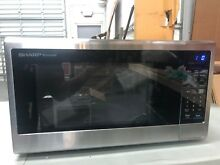 SHARP SMC1842CS Countertop 1 8 cu  ft  Microwave Oven 1100w  Small Defects