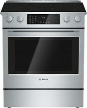Bosch HEIP0U Benchmark 30 Inch Wide 4 6 Cu  Ft  Free Standing Electric Range