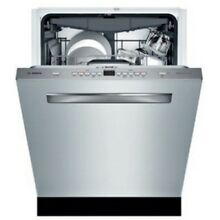 Bosch SHP865WG 24 Inch Wide 16 Place Setting Built In Fully Integrated Dishwashe
