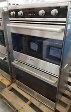 NICELY REFURBISHED VIKING 30  DESIGNER SERIES DOUBLE ELECTRIC WALL OVEN
