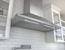 Zephyr ZSP E48BS Stainless Steel 1200 CFM 48 W Wall Mounted Range Hood
