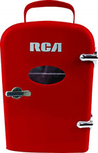 Curtis Mini Compact Refrigerator   Red
