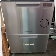 OUT OF BOX FISHER PAYKEL DOUBLE DISHDRAWER STAINLESS STEEL NEWEST MODEL