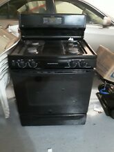 GE Profile Pgb 910 Detbb Gas Range Freestanding   30  Wide Black