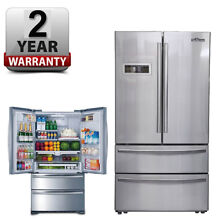 Thor kitchen 36inch French Door Refrigerator HRF3601F Stainless Steel