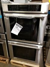 NEW OUT OF BOX THERMADOR 30  DOUBLE ELECTRIC WALL OVEN STAINLESS W  PRO HANDLES