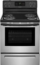 Frigidaire FFEF3015LS 30 Inch Freestanding Electric Range in Stainless Steel