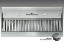 Zephyr AK9352AS 1200 CFM 54  Wide Insert Range Hood with Touch Controls