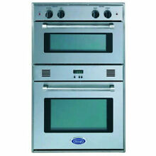 DeLonghi Double 24  Built In Gas Electric Oven   DEBIGE2440SS