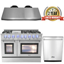 Thor 48  Gas Range Professional Appliance 48  Range Hood 24  Dishwasher