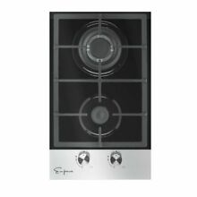 Empava 12  Tempered Glass 2 Italy Sabaf Burners Stove Top Gas Cooktop