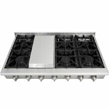 Thor Kitchen 48  Range Stove griddle stainless steel 6 burner range top