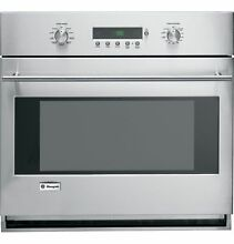 GE Monogram 30  Stainless Steel Single Wall Convection Oven ZET1SMSS