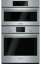 Bosch HBL57M52UC 30 Inch Wide 4 6 Cu  Ft  Built In Oven Microwave Combo with Eco